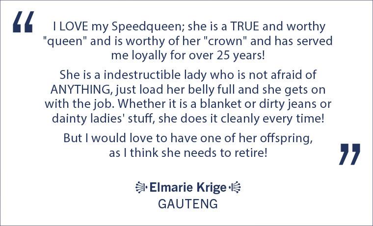 Elmarie-speed-queen-quote