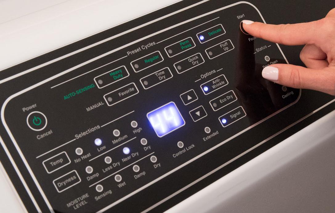 electronic-panel-controls-washer-dryer